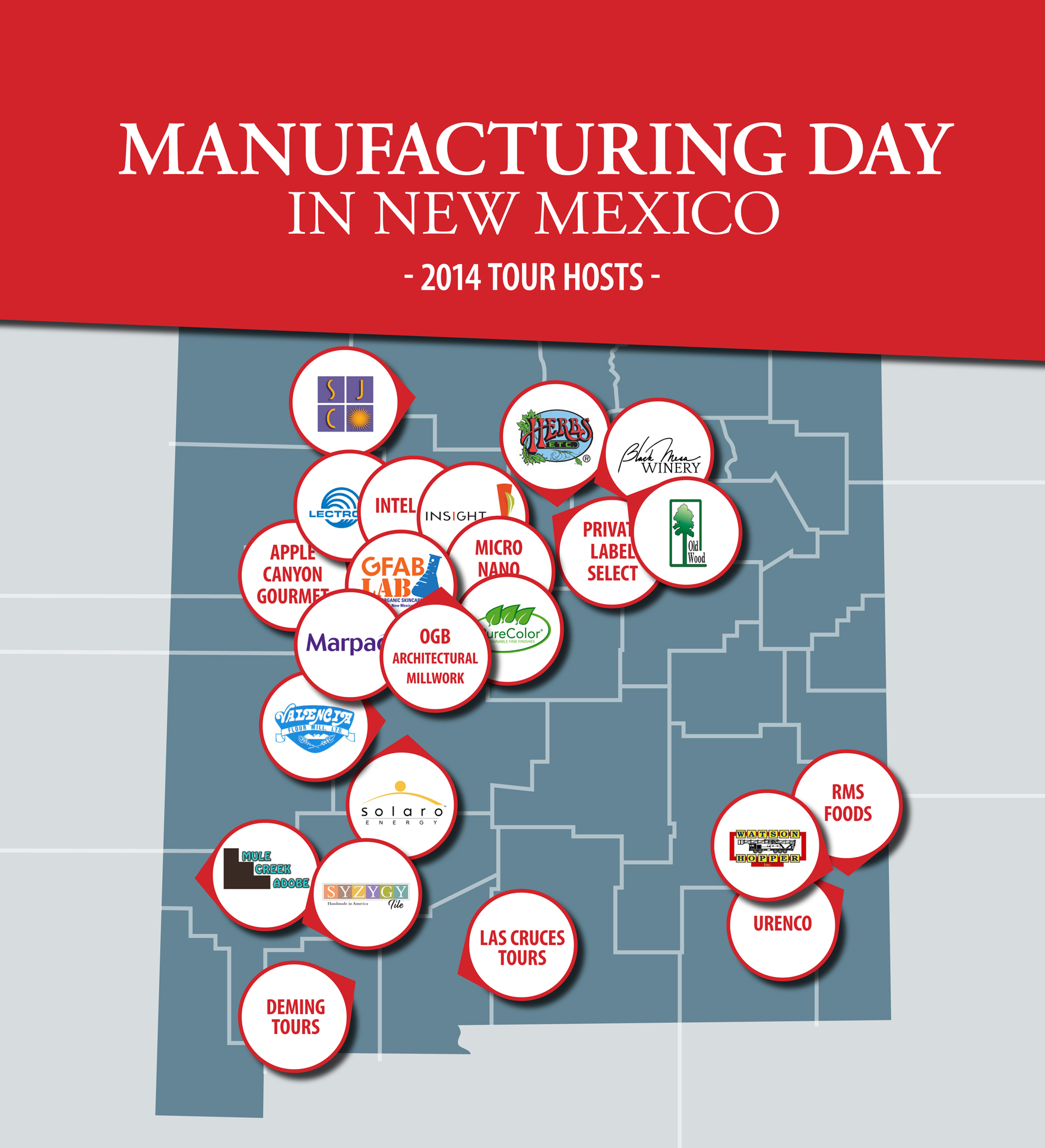 Infographic: Manufacturing Day 2014 in New Mexico